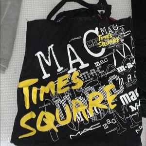Mac Times Square canvas tote